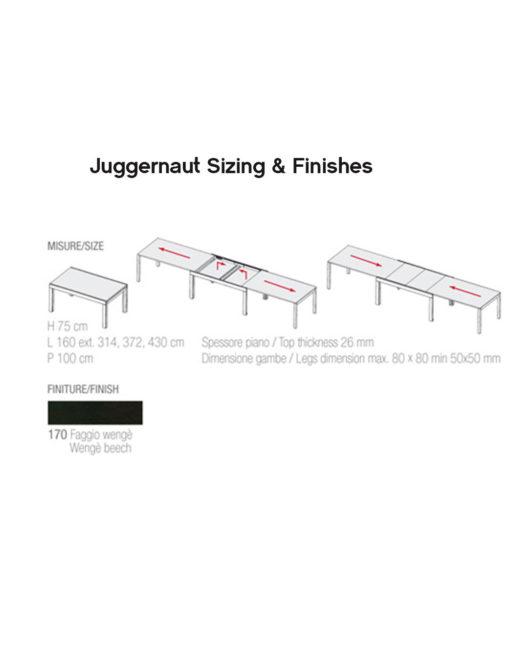 Juggernaut-size-and-finish-diagram