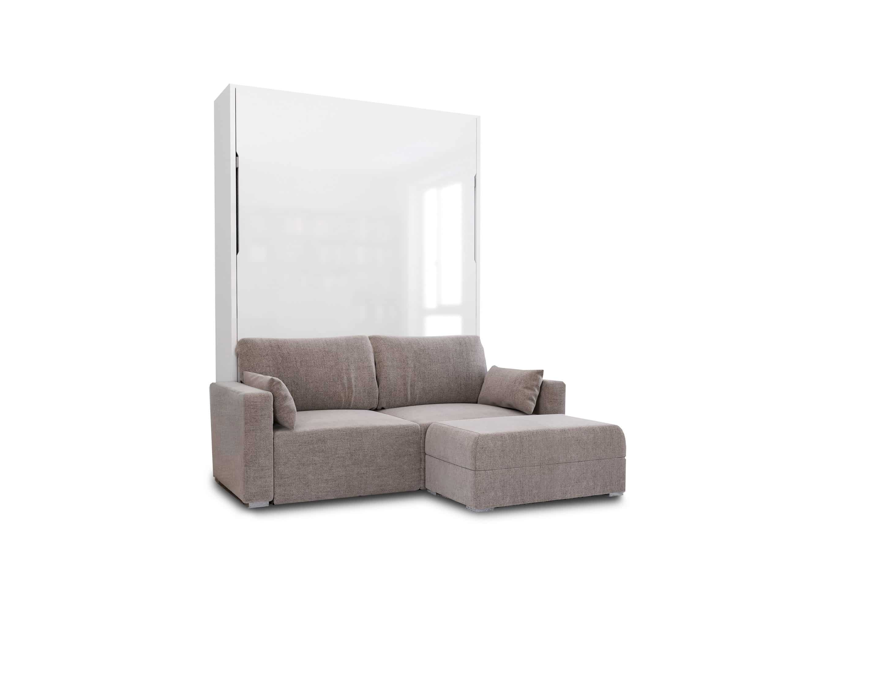 Picture of: Murphysofa Minima Queen Mini Sectional Expand Furniture Folding Tables Smarter Wall Beds Space Savers