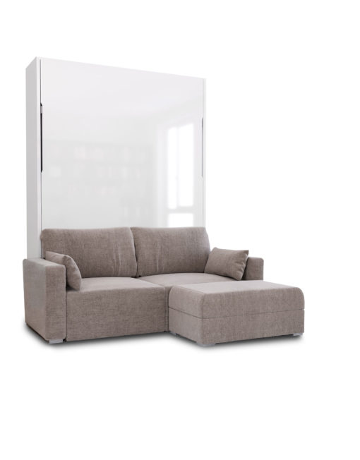 MurphySofa Minima Sectional Mini Wall Bed Couch Combo