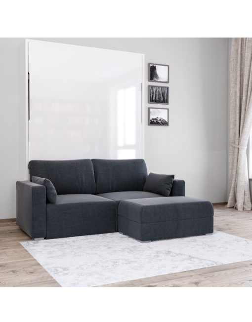 MurphySofa-Minima-Sectional-mini-wall-bed-couch-combo-in-charcoal