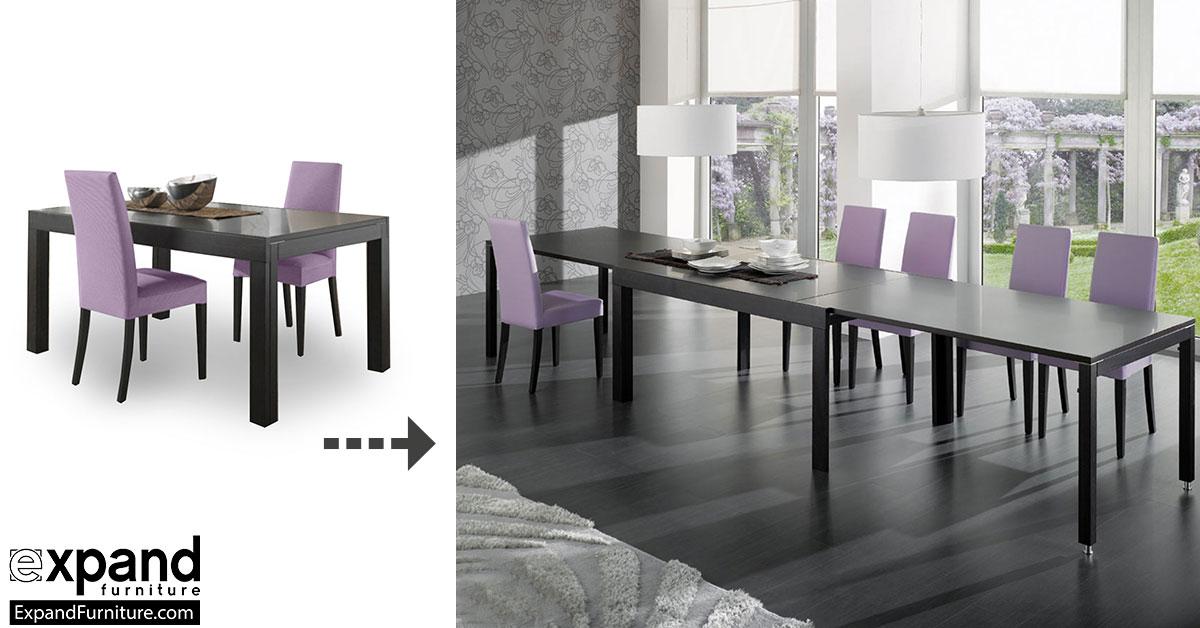 Juggernaut Mive Extendable Table Seats 22 Expand Furniture Folding Tables Smarter Wall Beds E Savers