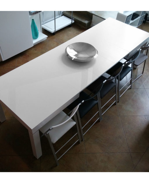 Extending Kitchen Table the pillar dining table that extends to seat 12 | expand furniture