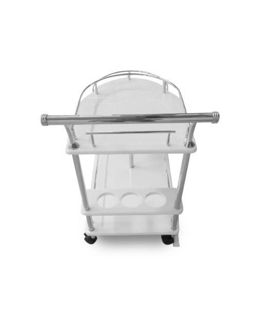Step-serving-trolley-in-white-gloss-and-silver