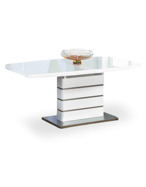 Opulent-glass-dinner-extending-table