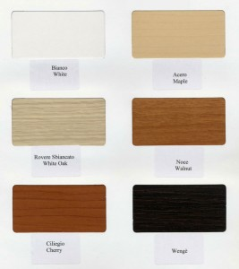 Color Options For The Freestanding Murphy Wall Bed Desk