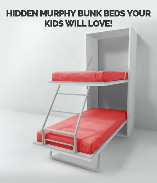 Hidden Murphy Bunk Beds You'll Love