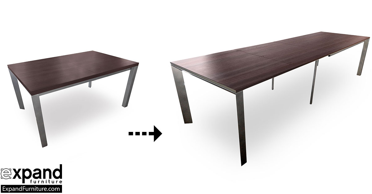 The Mega Abode Extending 14 Seat Table Expand Furniture