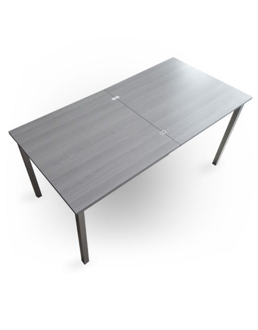 Echo-Grey-Wood-table-for-6-people-can-compact-to-a-small-square-table