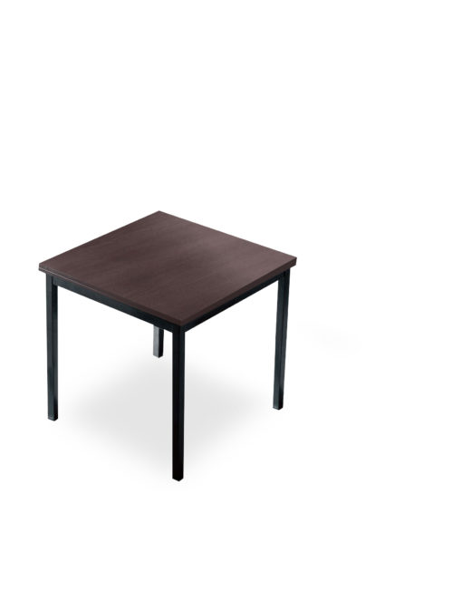 Echo-small-kitchen-table-in-walnut-and-black-legs