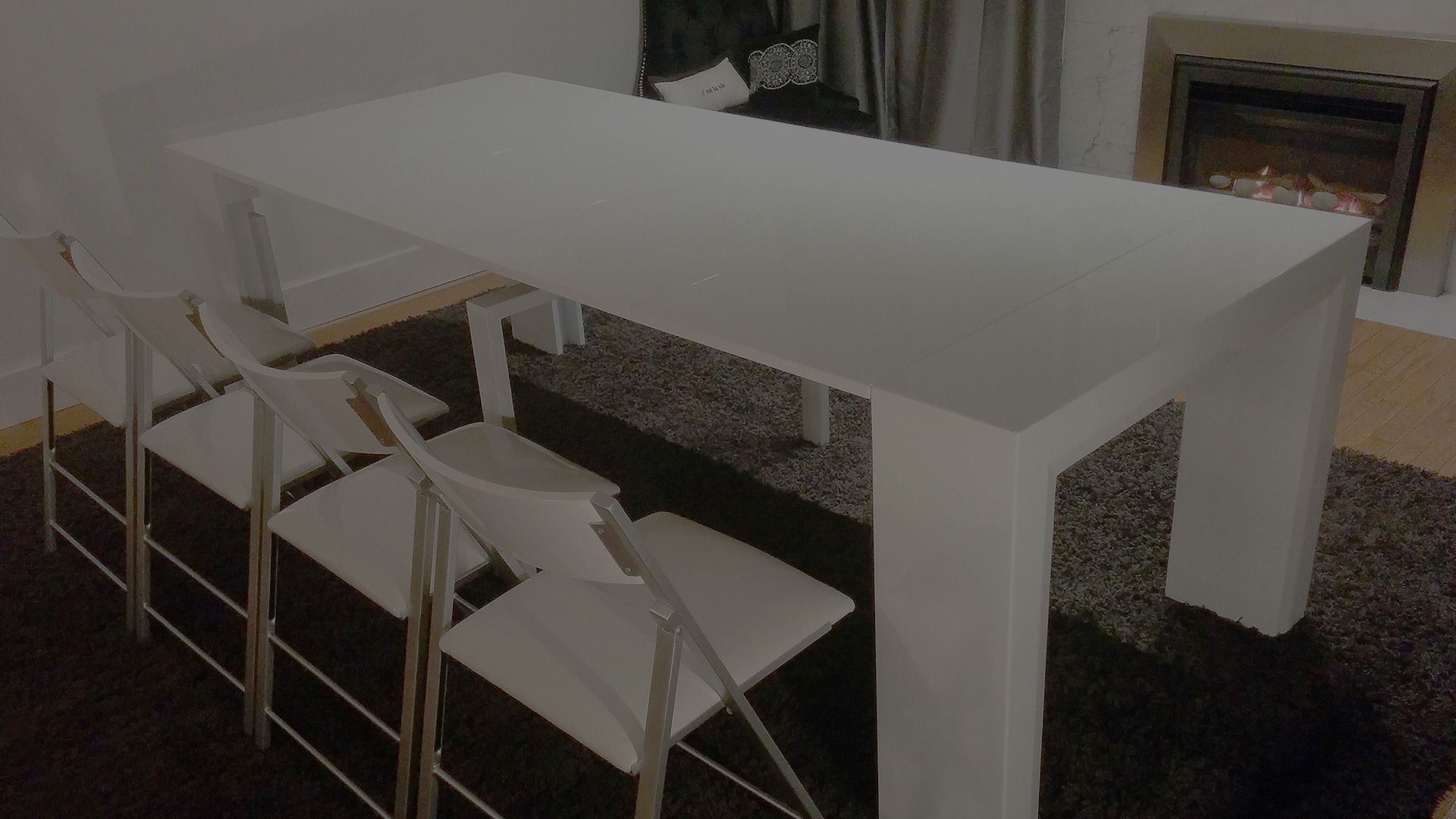 console to dining tables | transforming console tables