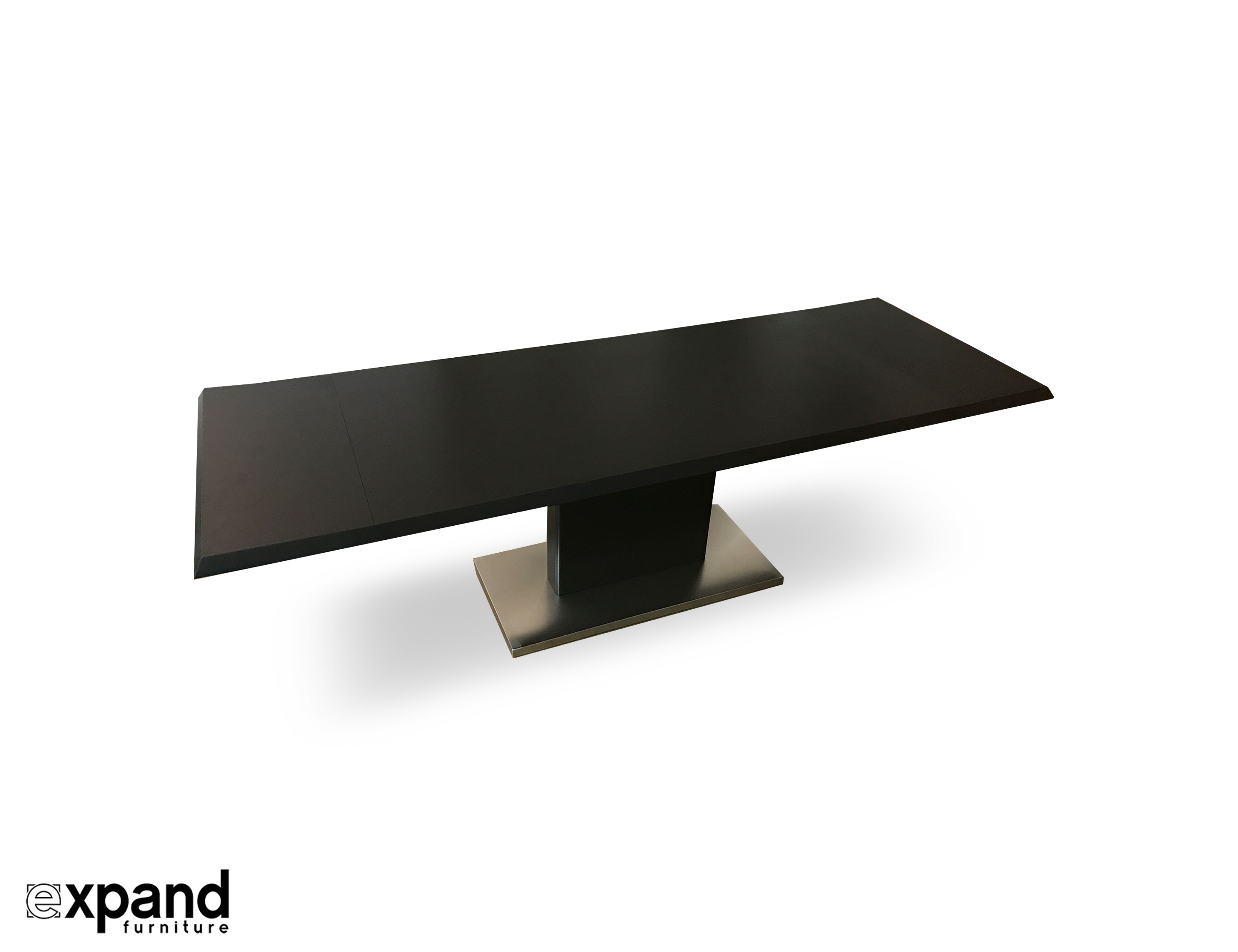 Monolith Extending Wood Dining Table Expand Furniture Folding - Expanding conference table