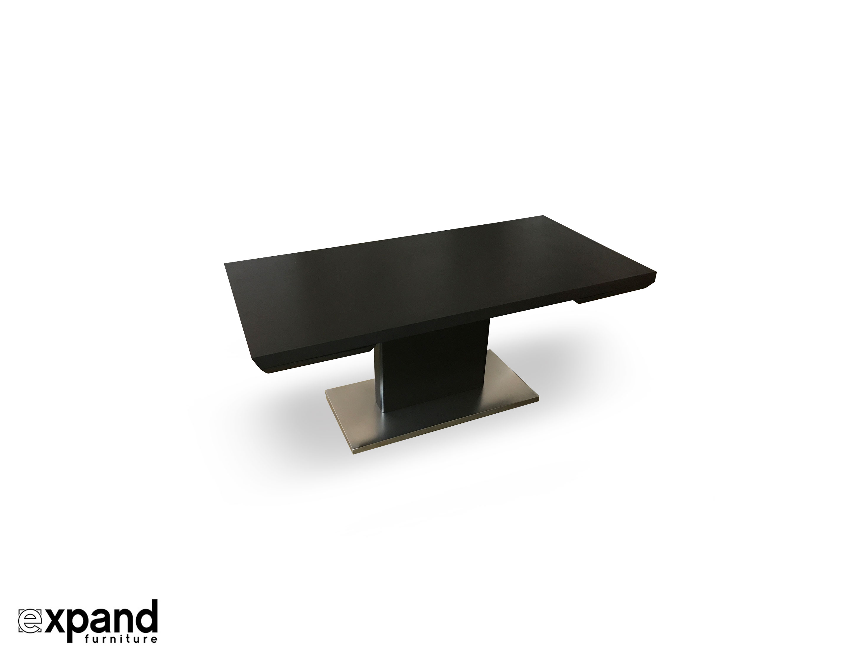 Monolith Extending Wood Dining Table