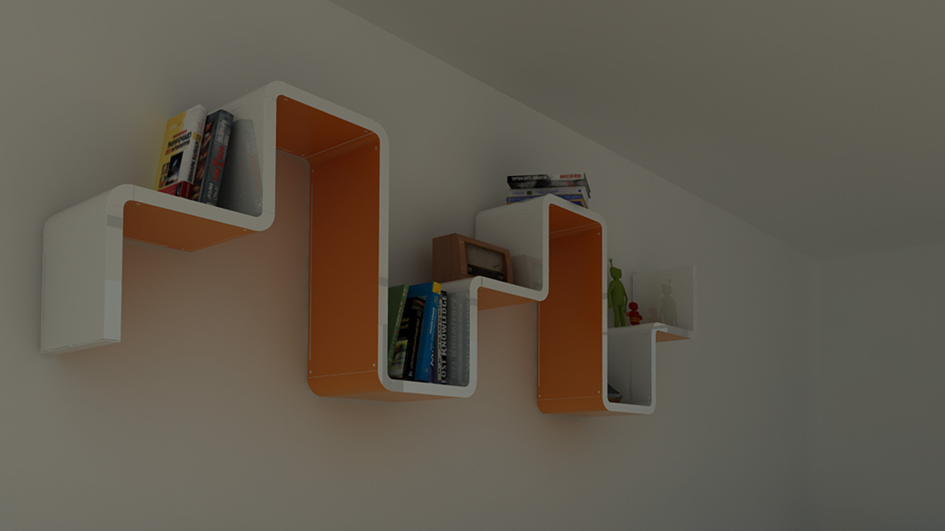 Modular Wall Shelves
