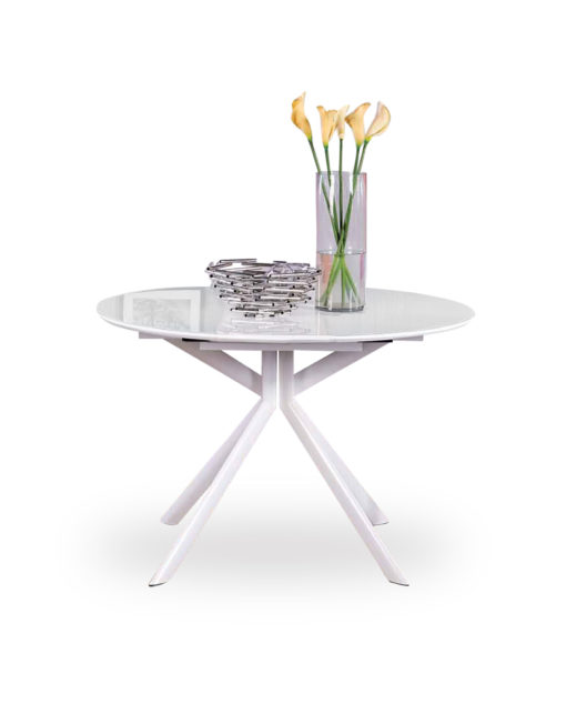 Tide-Round-White-glass-extending-table