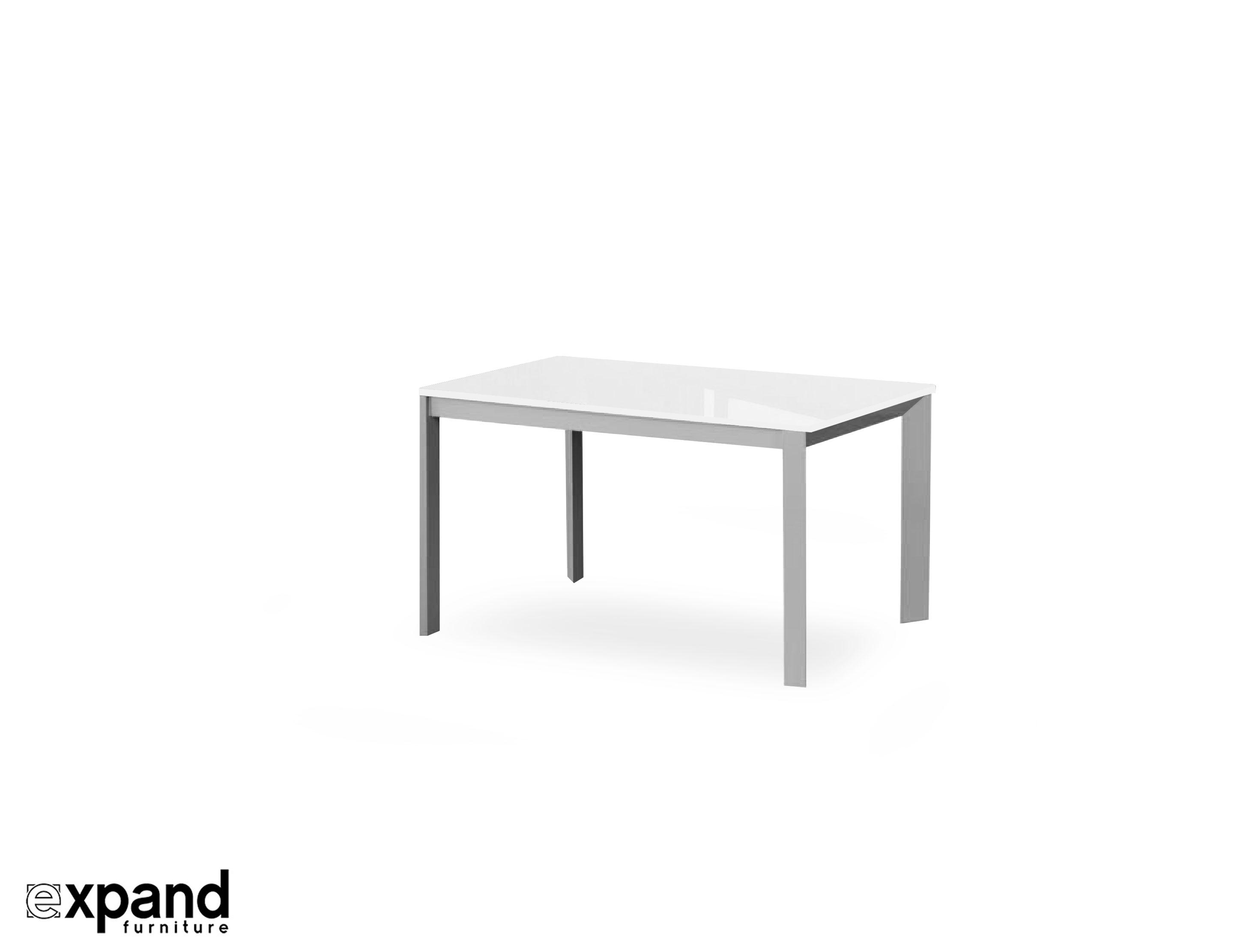 Abode Extending Table In White