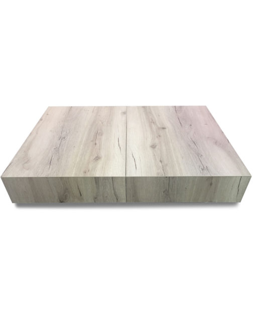 Compact-Box-Coffee-table-transformer-in-low-height-mode-finished-in-the-driftwood-panel