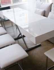 Compact-White-Glass-box-coffee-and-5-seat-ottoman-space-saver