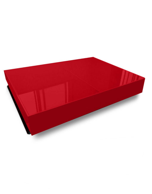 compact-box-coffee-table-in-red-glass-and-black-legs-shown-in-the-low-coffee-profile-size