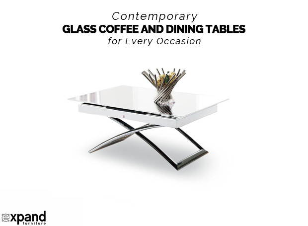 Contemporary Glass Coffee and Dining Tables for Every Occasion