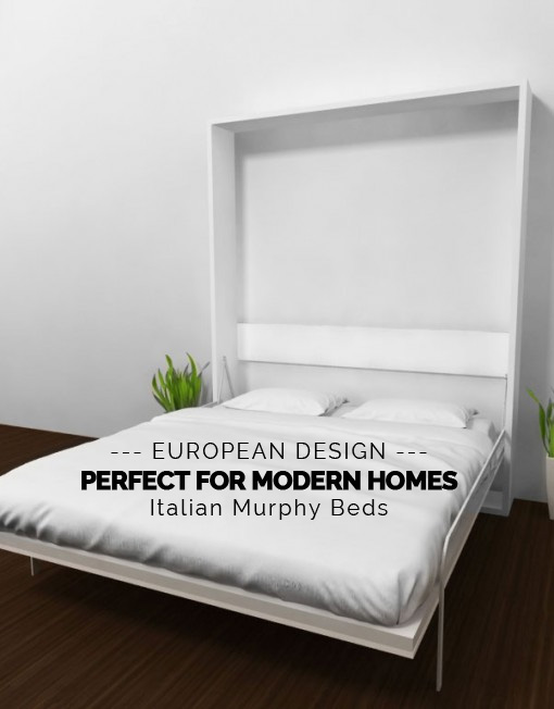 A European Design for a Modern Home - Multifunctional Italian Murphy Beds