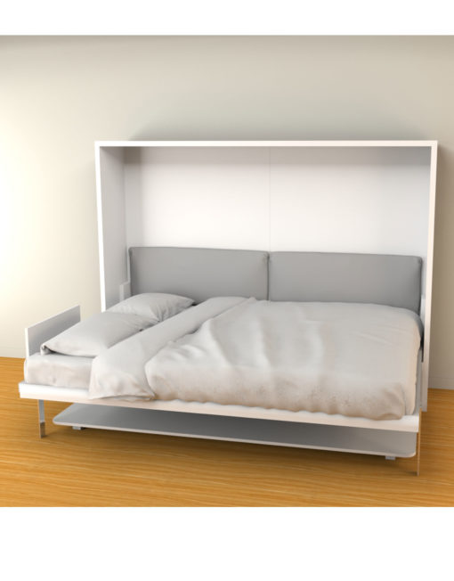 hover horizontal wall bed desk in queen size - Murphy Bed Frame