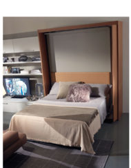 Amore-Revolving-Wall-Bed-opened