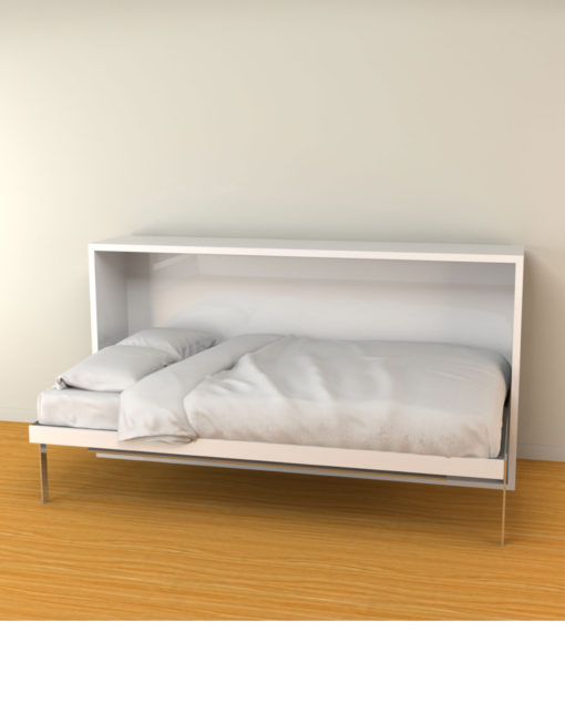 Hover-single-Murphy-Bed-with-Desk-opened-as-a-bed