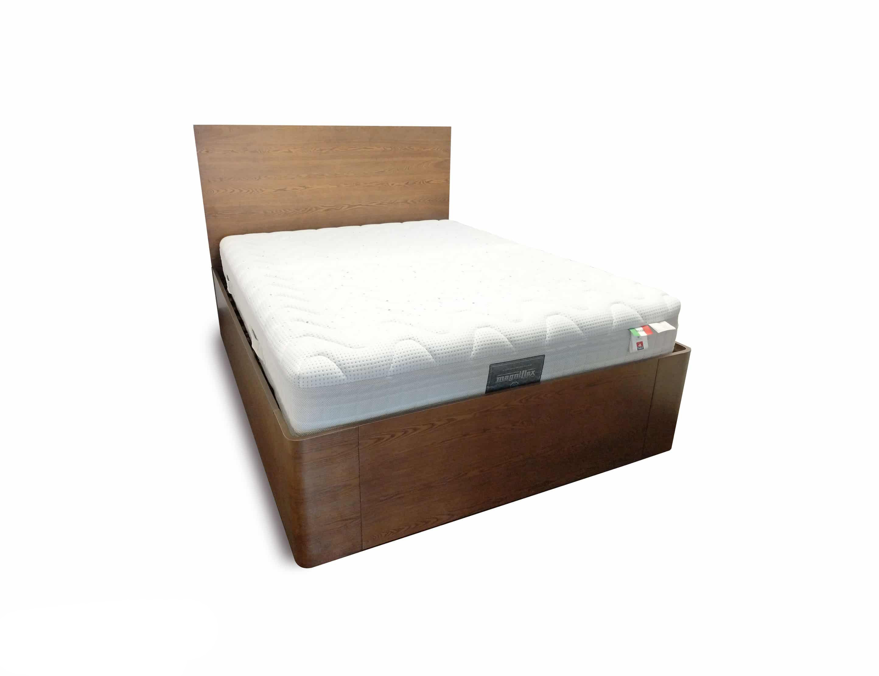 Pratico Queen Storage Bed With Gas Lift
