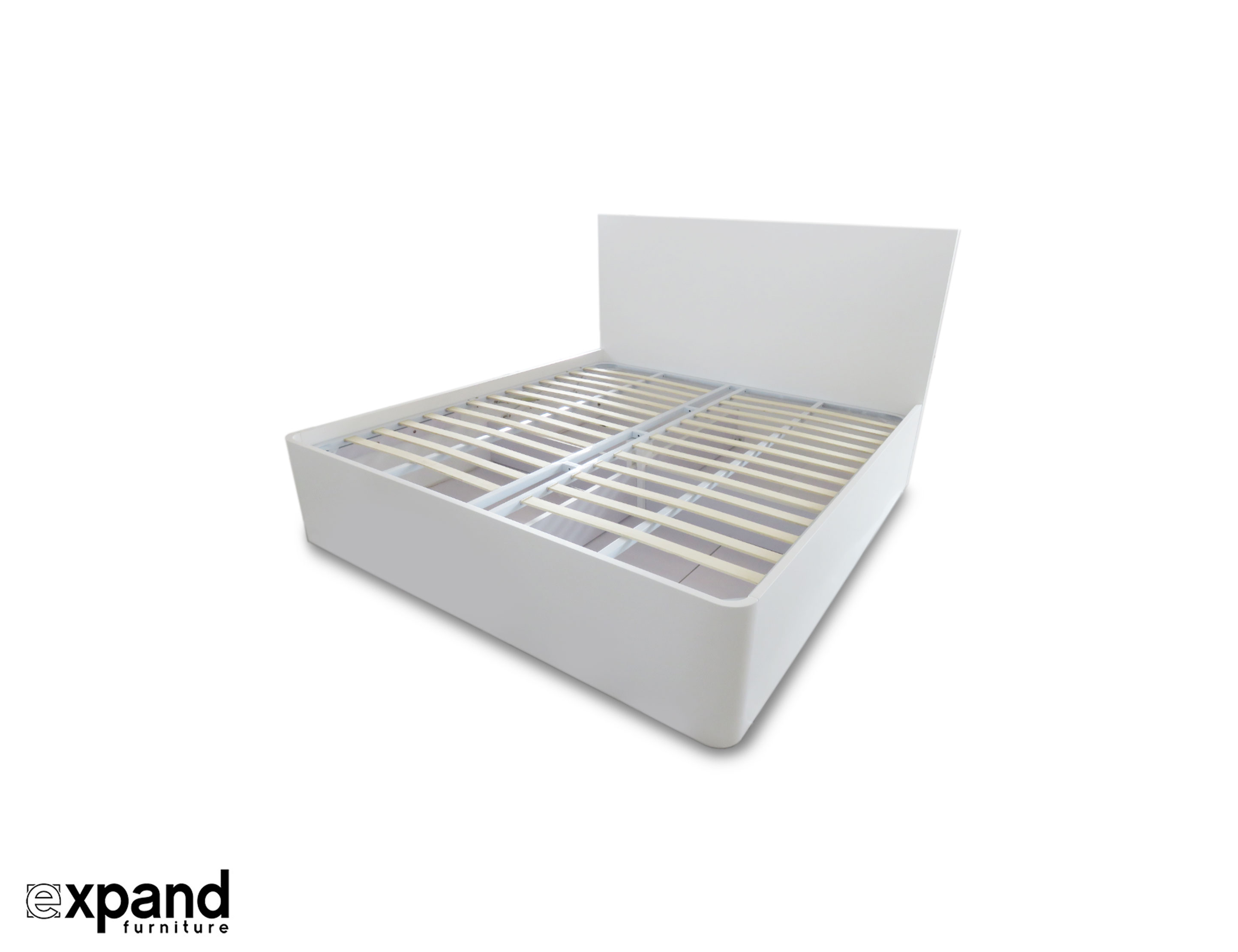 Pratico Queen Storage Bed with Gas Lift | Expand Furniture - Folding ...