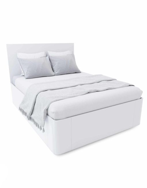 Pratico-Storage-Bed-in-White-Matte-queen-size-expand-furniture