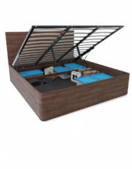 Pratico-king-size-lift-wood-storage-bed-with-rounded-ends
