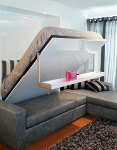 Sectional MurphySofa Wall Bed