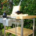Fold-Away Kitchen Island: Top-Rated by Kitchen Professionals