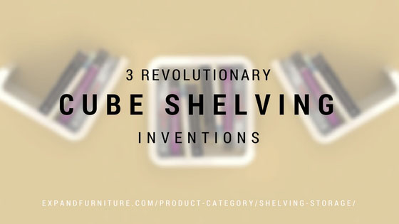 3 revolutionary cube shelving inventions