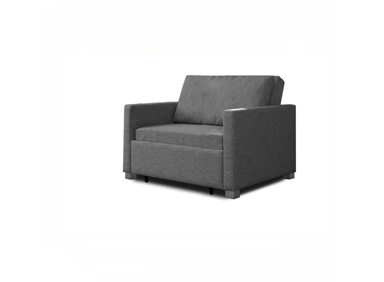 Single Sofa Bed With Memory Foam
