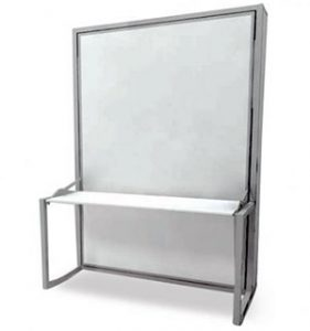 counter balancing freestanding wall bed