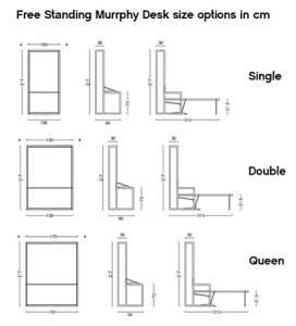 free standing wall bed support instructions
