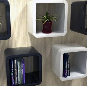 unique cube wall shelves expand furniture