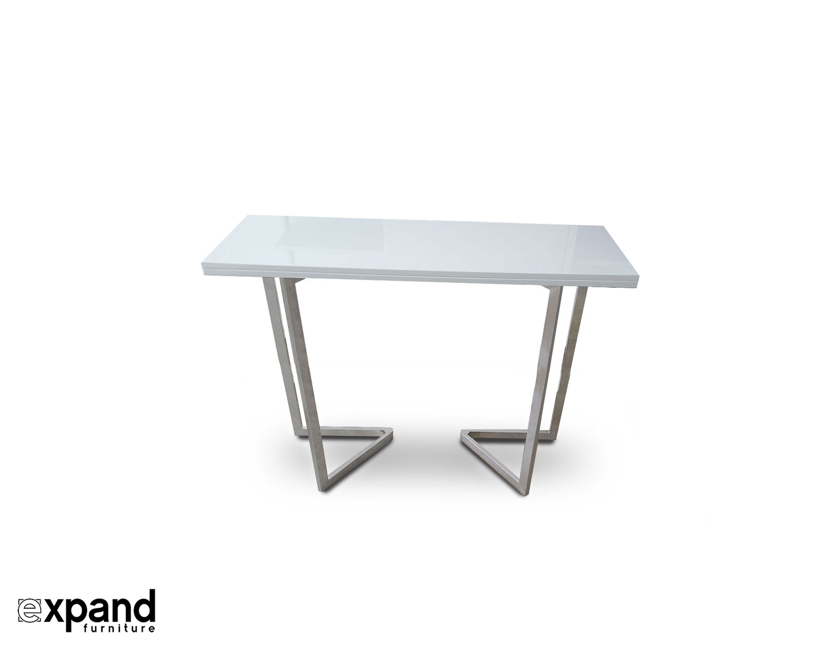 Counter Height Flip Expanding Table