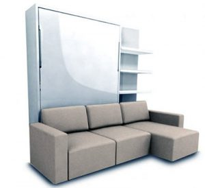 murphy sofa sectional wall bed