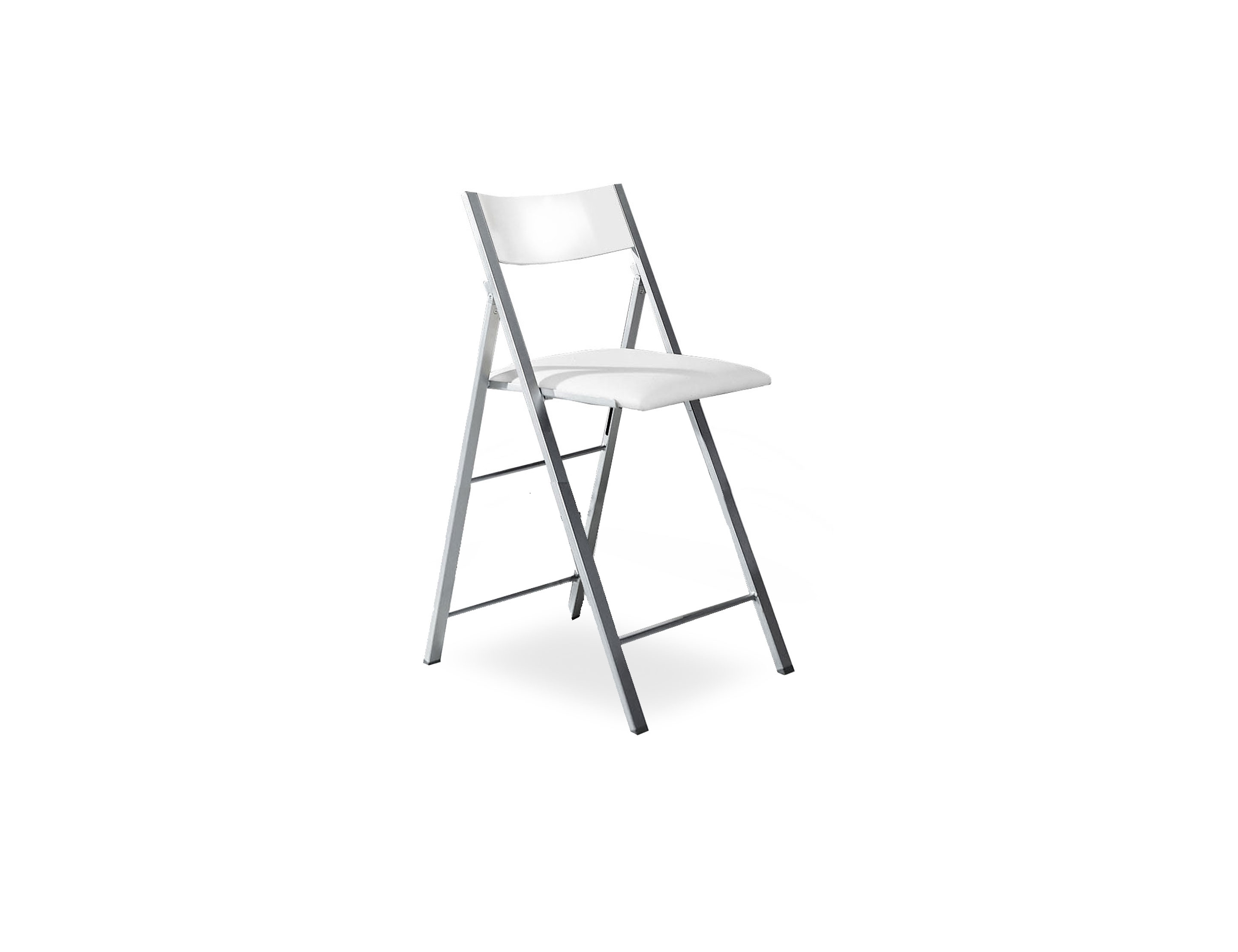 Counter Height Tall Folding Chair Set