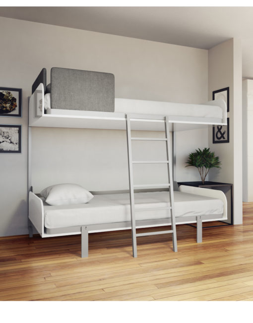 Compact Bunk Beds hover - compact fold-away wall bunk beds | expand furniture