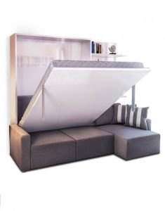 space saving Sectional Wall bed sofa combination