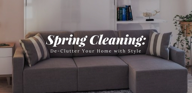 spring cleaning De-Clutter Your Home with Style