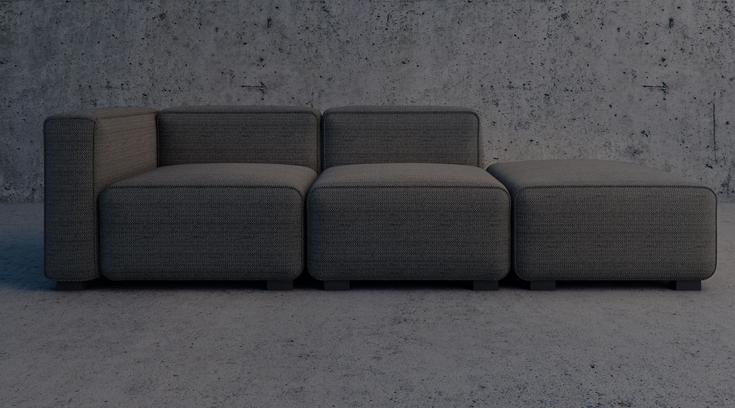 These Modular Sofas Can Be Built As Apartment Sized Or Mive Modern Sectionals For Your Open Concept E The Flexible Choice Is Yours