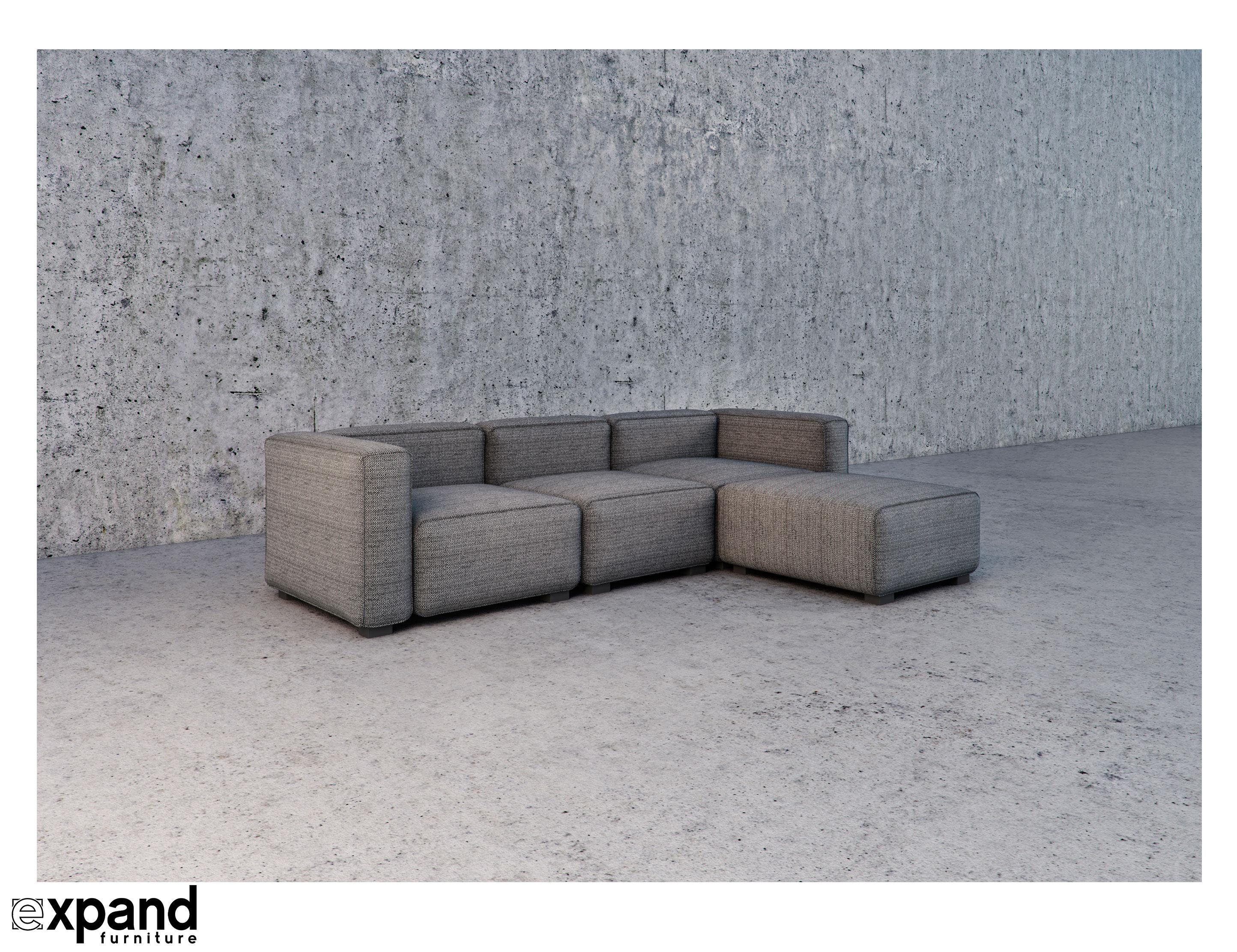 soft-cube  modern modular sofa set
