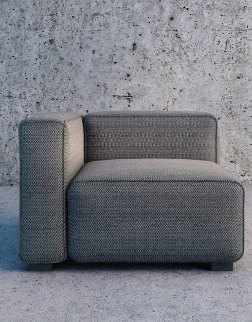 Soft Cube Modern Modular Sofa Set Expand Furniture