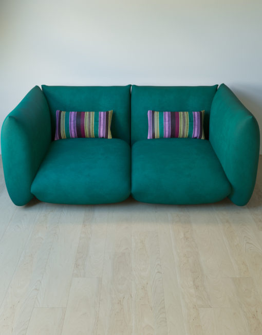 2 bass corner pieces made to create a sofa