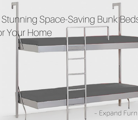 3 stunning space-saving bunk beds