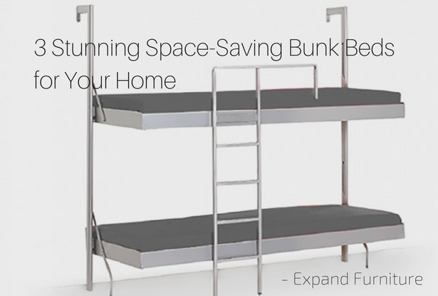 3 Stunning Space Saving Bunk Beds